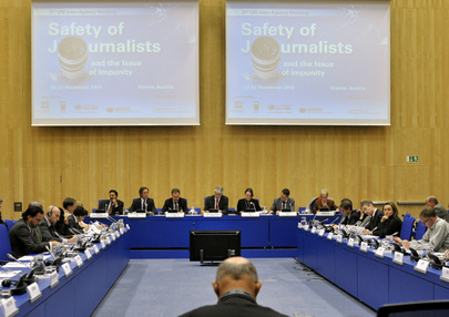 UN Discusses Safety of Journalists in 2nd Inter-Agency Meeting