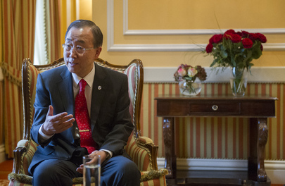 Secretary-General Gives Interview to Austrian Daily, Die Presse