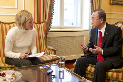 Secretary-General Gives Interview to Austrian Daily, Der Standard