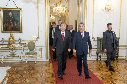 Secretary-General Meets Austrian President in Vienna