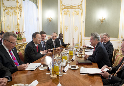 Secretary-General Meets Austrian President