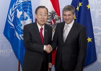 Secretary-General Meets Austrian Foreign Minister