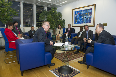 Secretary-General Meets Head of UN Office in Vienna