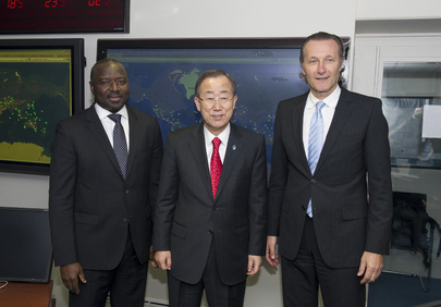 Secretary-General Meets CTBTO Leadership