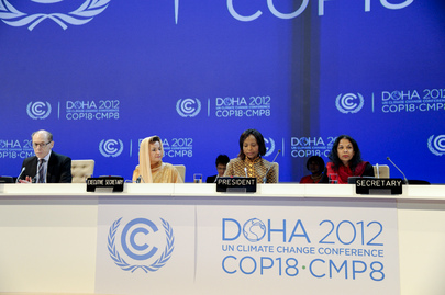 UN Climate Change Conference Opens in Doha, Qatar