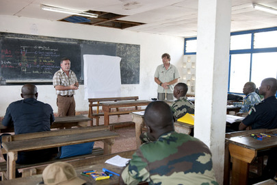 UNMAS Conducts Training on Storage and Tranfser of Ammunition and Mines