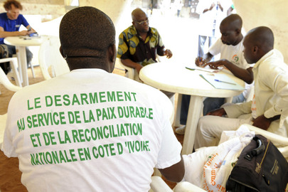 UNOCI Conducts Weapons Collection in Abidjan