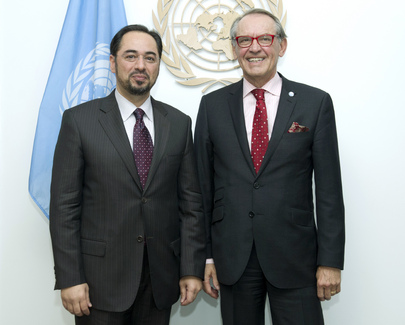 Deputy Secretary-General Meets Chair of Afghan Peace Council