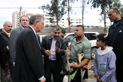 Special Coordinator for Mideast Peace Visits Gaza