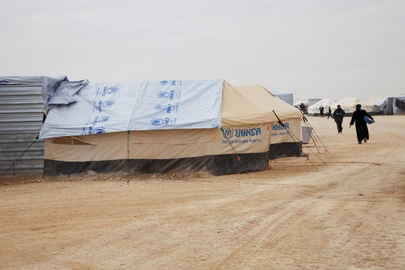 Humanitarian Affairs Chief Visits Syrian Refugee Camp in Jordan