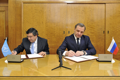 OCHA and Russian Ministry Sign Memorandum on Disaster Preparedness