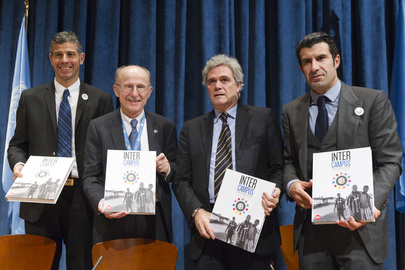 "Inter Milan's Non-Profit Project, ""Inter Campus"", Presented at UN"