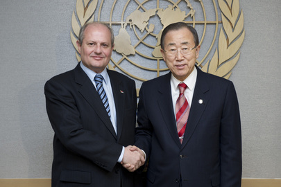 Secretary-General Meets Foreign Minister of Serbia