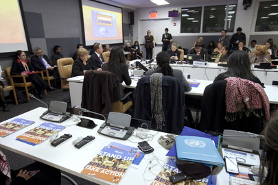 UN Marks International Day for Elimination of Violence against Women