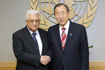 Secretary-General Meets President of Palestinian Authority
