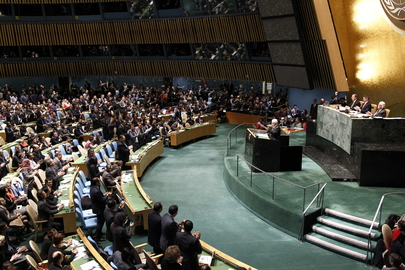 Assembly Grants Palestine Non-member Observer State Status