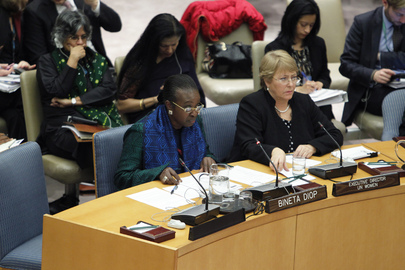 Council Holds Open Debate on Women, Peace and Security