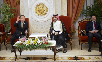 Secretary-General and Assembly President Arrive in Doha for Climate Change Conference