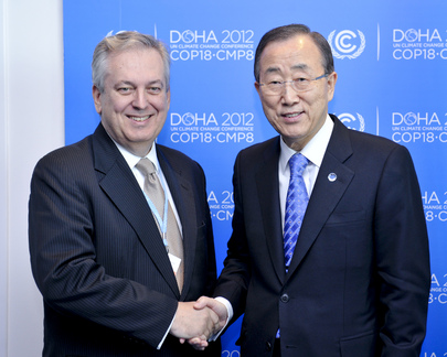 Secretary-General Meets Brazil's Under-Secretary-General for Environment at Doha