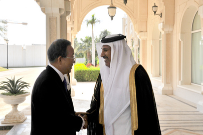 Secretary-General Meets Prime Minister of Qatar