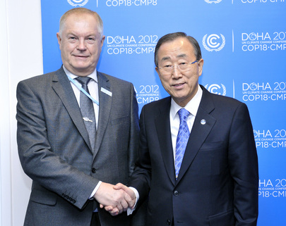 Secretary-General Meets Russian Special Envoy for Climate at Doha