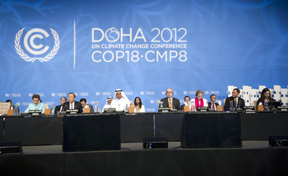 High-Level Segment Continues at UN Climate Change Conference in Doha