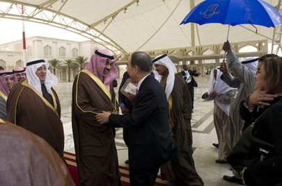 Secretary-General Arrives in Kuwait