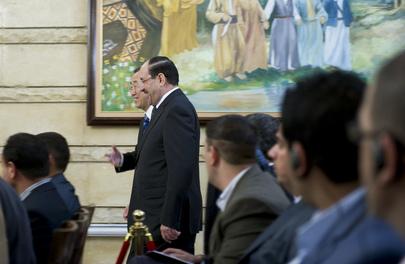 Secretary-General Meets Iraqi Prime Minister
