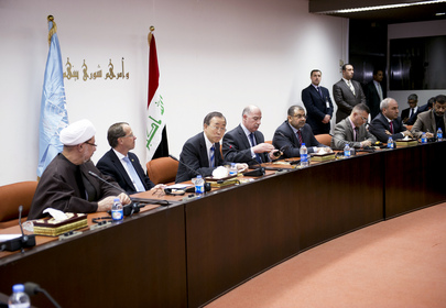 Secretary-General Meets Heads of Iraqi Political Blocs