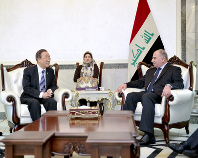 Secretary-General Meets Speaker of Iraqi Council of Representatives