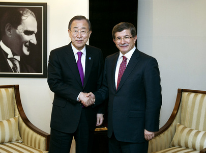 Secretary-General Meets Turkish Foreign Minister