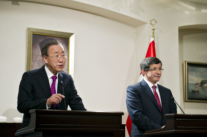 Secretary-General and Turkish Foreign Minister Hold Press Briefing