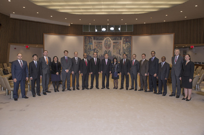 Secretary-General and Security Council Group Photo