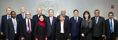 Secretary-General Meets Panel of External Auditors