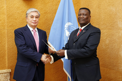 Trinidadian Representative to UNOG Presents Credentials