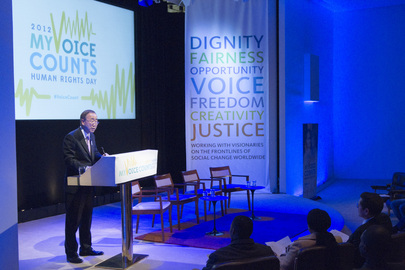 "UN Celebrates Rights Day with Event on ""My Voice Counts"""