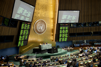 "Assembly Adopts Text on ""Oceans and Law of the Sea"""
