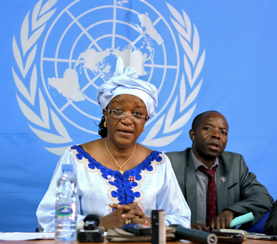 Special Representative on Sexual Violence Wraps Up Mission in Central African Republic