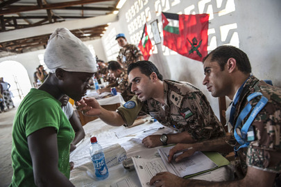 UNMIL's Jordanian Medical Team Offers Services in Monrovia