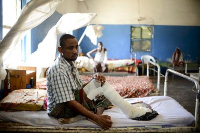 Marka General Hospital, Somalia