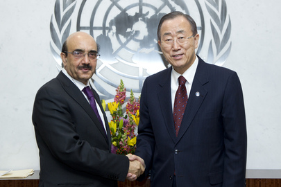 Secretary-General Meets Permanent Representative of Pakistan
