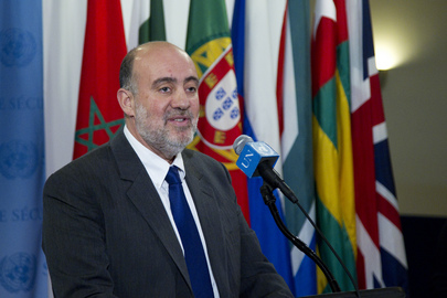 Permanent Representative of Israel Briefs Media