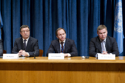 Press Conference on Regions of Russia and the Millennium Development Goals