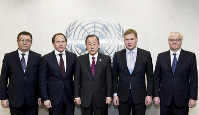 Secretary-General Meets Governors of Russian Regions