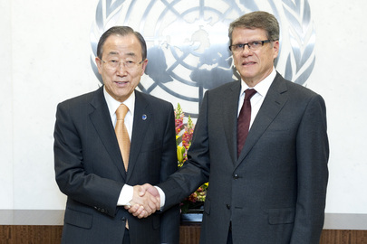Secretary-General Meets Permanent Representative of Ecuador