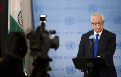 Council President Briefs Press on Central African Republic Situation