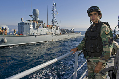 UNIFIL Maritime Task Force Conducts Joint Exercise with Lebanese Navy