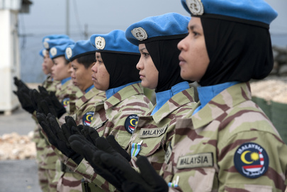 UNIFIL Malaysian Women Peacekeepers