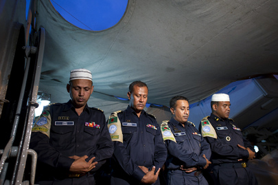 Ramadan with Bangladeshi Peacekeepers of UNIFIL Maritime Task Force