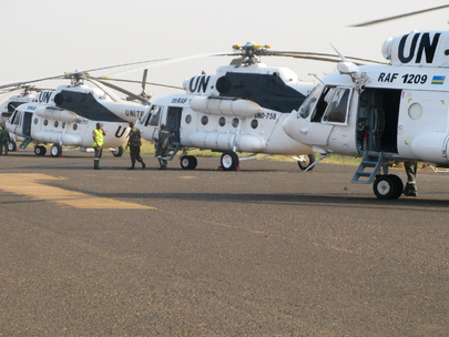 Rwandan Aviation Contingent Arrives in Juba to Join UNMISS